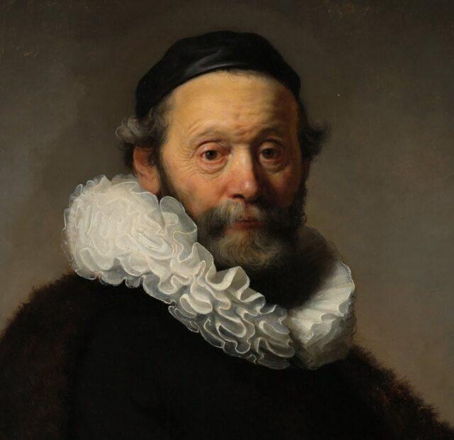 oil colour portrait