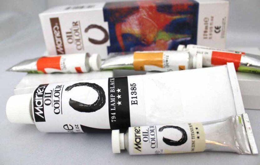 different oil color brands