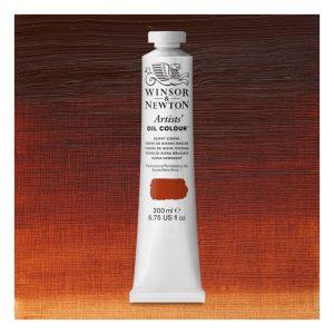 Burnt Sienna Color oil color
