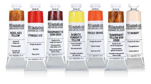 williamsburg oil paint colors